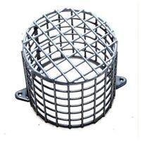 Small CCTV Dome Camera Detector Steel Cage Guard Anti-Vandal 19 x 17cm