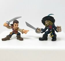 "Disney Heroes Pirates of the Caribbean Mini Action Figures 2.5"" Park Exclusive"