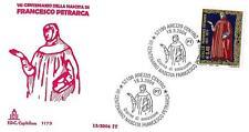 ITALIA REP. - 2004 - VII° centenario nascita Francesco Petrarca su Capitolium