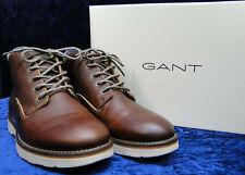 Herren Schuhe Gr. 41 GANT Modell Huck G45 cognac Stiefel, Boots, Schnürschuhe