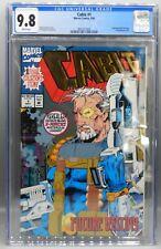 CGC 9.8 Marvel Comics CABLE #1 Gold FOIL Logo X MEN Wraparound Cover X FORCE !!!