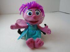 "Sesame Street Hasbro 9"" Abby Cadabby Plush Stuffed Figure"