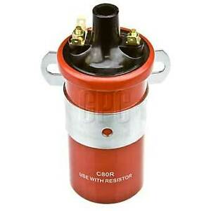 Fuelmiser Ignition Coil C80R fits Ford Courier 1.8, 2.0, 2.0 (PC)
