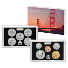 2018 US Mint San Francisco Silver Reverse Proof Set (18XC)