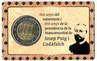 Set Trial coin 2 euros Catalonia Proof 2017 Catalunya Cataluña
