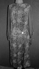 Vestidos vintage de mujer negro de terciopelo