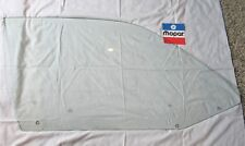 71 72 73 74 Charger Roadrunner Satellite GTX door window glass clear right side