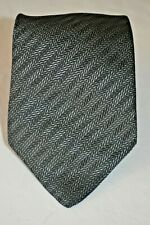 Brioni Anthracite Silver - Grey Silk Tie