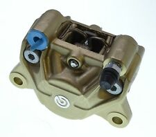 Aprilia Ducati Brembo P34 Rear Brake Caliper Gold with Pads