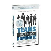 Commercial Real Estate Teams Built to Dominate - Hardcover - VERY GOOD