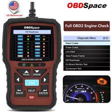 OBDII Engine Fault Code Reader OS5100 Scanner I/M Readiness Car Diagnostic Tool
