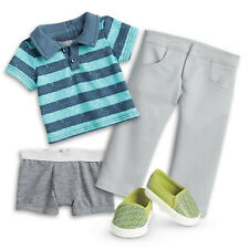 TRULY ME BOY MEET OUTFIT! SHIRT~PANTS~BRIEFS~SHOES! FIT AMERICAN GIRL LOGAN DOLL