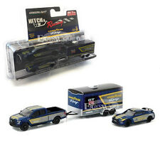 GREENLIGHT 51061 C 2014 NISSAN SKYLINE GT-R 35 & 2015 FORD F-150 GOOD YEAR 1/64