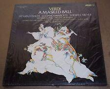 Tebaldi/Pavarotti/Milnes/Bartoletti VERDI A Masked Ball - London OSA 1398 SEALED