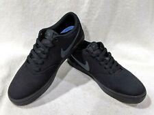 Nike SB Check Solar Black/Anthracite Canvas Men's Skate Shoes - Size 8.5 NWB