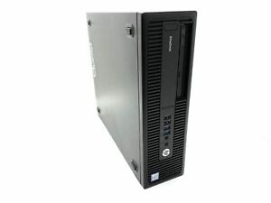 HP EliteDesk 800 G2 SFF I7-6700 @ 3.40GHz 16GB DDR4 SSD Win10 Desktop PC
