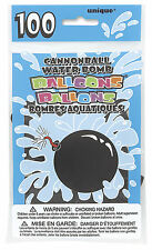 Latex Cannonball Water Balloons Unique Party Outdoor Fun Summer Activity 100pcs
