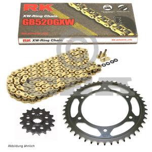 Chain Set Husaberg Fe 570 E Enduro 09-12 Chain RK GB 520 Gxw 118 Open Gold