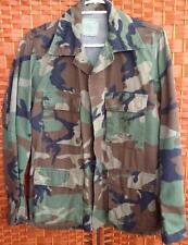 Vintage USMC Men's 1980s Combat Camouflage US Marines Field Jacket USA Small