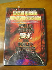 STACK OF QUARTERS DVD AND COPPER/SILVER MAGIC TRICK DVD ONLY