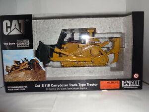 Norscot, Cat D11r Carrydozer Bulldozer W/Ripper, 1/50 Scale, Metal Tracks,