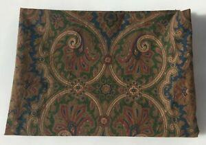 Ralph Lauren BRIANNA Paisley Twin Flat Sheet