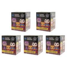 FUNKO DC SUPER HEROES & PETS LOT (5) BLIND BOX MINI VINYL FIGURE (SEALED) TY229