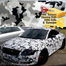 """72"""" x 60"""" Snow Camo Camouflage Vinyl Film Wrap Decal Air Bubble Free 6ft x 5ft"""