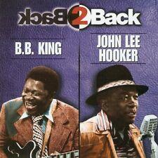 B.B. King, John Lee Hooker - Back 2 Back (CD 1998) US Release