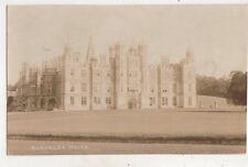 Burghley House Stamford Lincolnshire England Vintage Rppc Postcard Us051