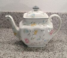 JOHNSON BROS England SAVOY Floral Pattern TEAPOT with LID