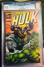 INCREDIBLE HULK Wizard Ace Edition #181 2003 CGC 9.8 White Pages MARVEL