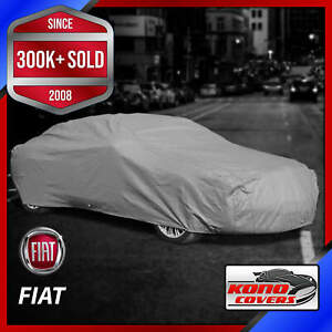 FIAT [OUTDOOR] CAR COVER ✅ All Weatherproof ✅ 100% Full Warranty ✅ CUSTOM ✅ FIT