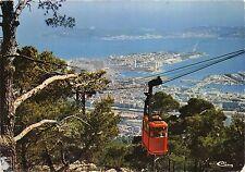 BR14375 Toulon vue generale depuis le Mont Faron cable train  france