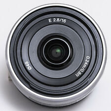 Sony SEL16F28 16mm f/2.8 E-mount wide angle lens, immaculate