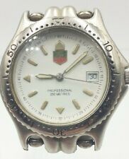 Genuine TAG HEUER PROFESSIONAL 200m SWISS MADE medio/piccoli DIVERS orologio.