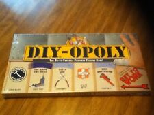 New DIY-Opoly (DIYopoly) A Do It Yourself Monopoly Game 2013 Freeshipping