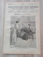 Journal illustré 1909  - Veillées des Chaumières - 24 Mars - Roselyne...