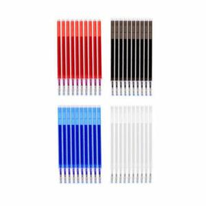 10pcs/set Heat Erasable Pens Refills Auto-Vanishing Fabric Marker Sewing Tools