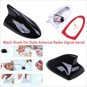 Car SUV Truck Auto Van Black Shark Fin Style Radio Signal Aerial Durable Classic