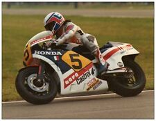 post card Honda NS500 #5 Marco Lucchinelli  Dutch TT Assen 1983