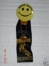 PURDUE BOILERMAKERS SMILEYFACE FOOTBALL PIN - 1960'S