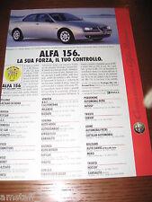 *AH53=ALFA ROMEO 156=PUBBLICITA'=ADVERTISING=WERBUNG=COUPURE=