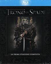 TRONO DI SPADE - STAGIONE 1 COFANETTO 5 BLU RAY DISC NUOVO!