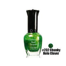 1 Kleancolor Nail Polish Lacquer #232 Chunky Holo Clover Manicure Pedicure