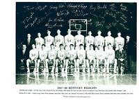 1967 1968 KENTUCKY WILDCATS 8X10 TEAM PHOTO  BASKETBALL ISSEL RUPP HOF