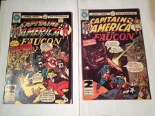 Capitaine America Et Le Faucon # 76/77, 78/79 Edition Heritage