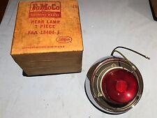 NOS 1952 FORD CUSTOMLINE-CRESTLINE-VICTORIA TAIL LAMP LIGHT PART #FAA-13404-J