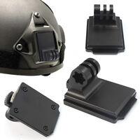 F06678 Aluminum Fixed Helmet Mount for Camera Gopro Hero 2 3 3+ NVG Mount Base