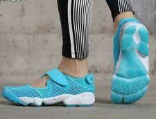New Nike AIR RIFT Breathe wmn USsz's: 6; 7 *BLUE LAGOON* Running Shoe 848386-400